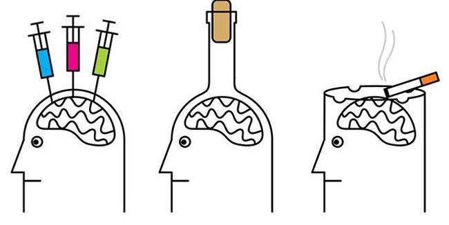 اثر-اعتیاد-بر-مغز